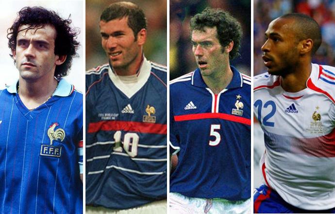 Петух на логотипе сборной Франции по футболу