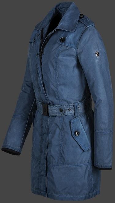 Wellensteyn синее женское пальто