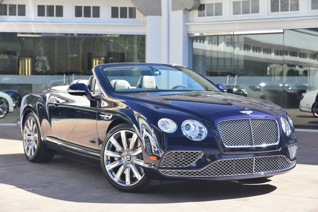 2018 Bentley Continental GT W12 Convertible Timeles Edition