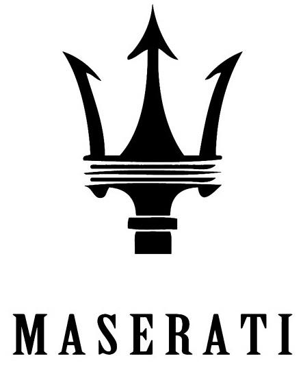 Эмблема бренда Maserati