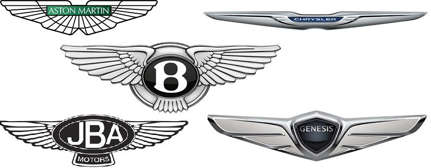 Логотип машины с крыльями