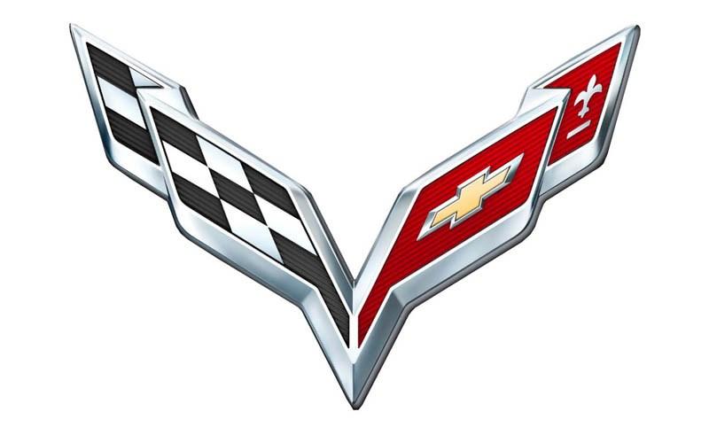 Эмблема Chevrolet Corvette