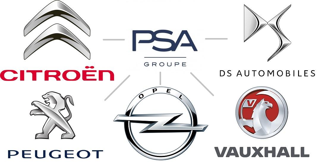 Логотипы брендов PSA