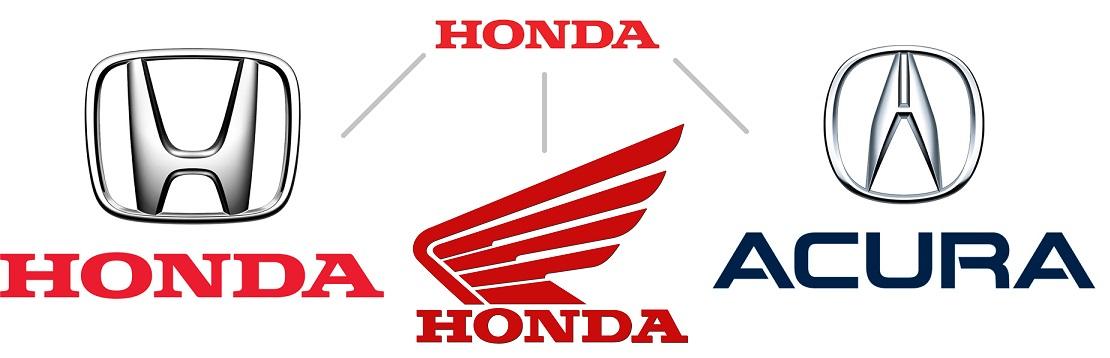Бренды, входящие в Honda